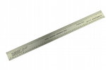 Ruler, HO O S N Scale Rule, Model Railway, Model Railroad ruler. X1061